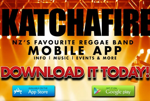 Katchafire Mobile App